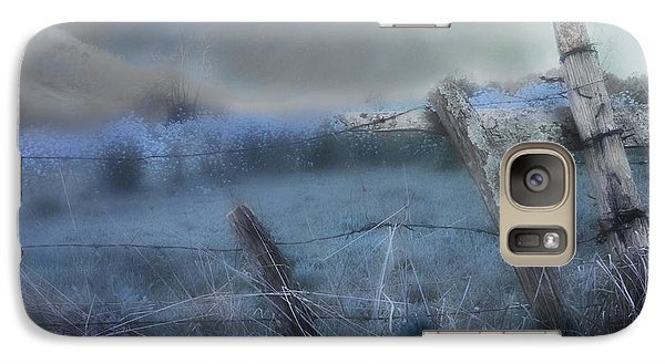 Galaxy Case featuring the painting Blue Ridge Morning by Gray  Artus