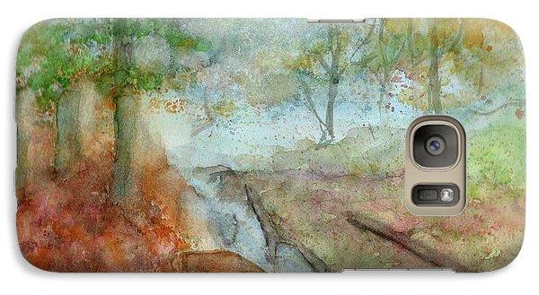 Galaxy Case featuring the painting Blue Ridge Mountains Memories by Doris Blessington