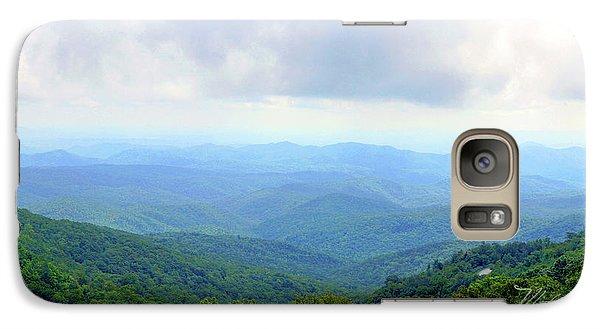 Galaxy Case featuring the photograph Blue Ridge Parkway Overlook by Meta Gatschenberger