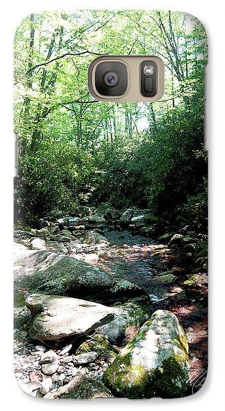 Galaxy Case featuring the photograph Blue Ridge Parkway Stream by Meta Gatschenberger