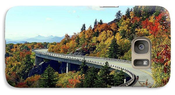 Galaxy Case featuring the photograph Blue Ridge Parkway Viaduct by Meta Gatschenberger