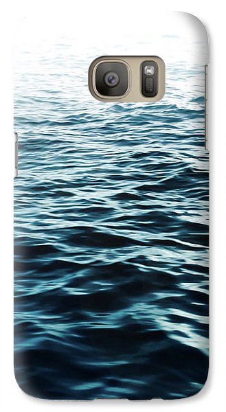 Galaxy Case featuring the photograph Blue Sea by Nicklas Gustafsson