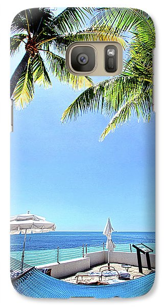 Galaxy Case featuring the photograph Blue Sky Breezes by Phil Koch