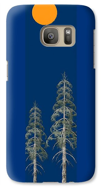 Galaxy Case featuring the painting Blue Sky by David Dehner