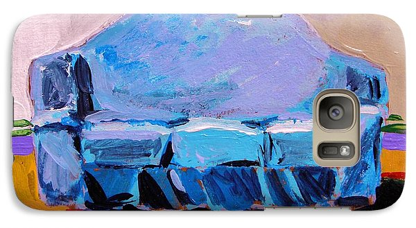 Galaxy Case featuring the painting Blue Slipcover by John Williams