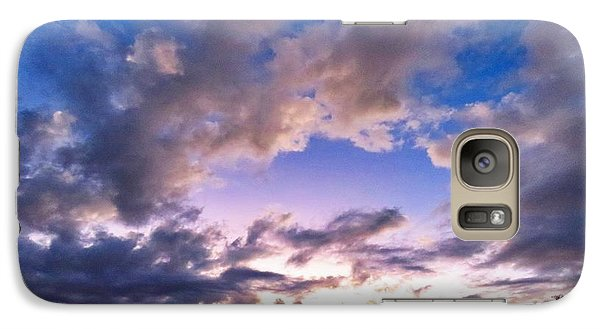 Blue Sunset Galaxy S7 Case