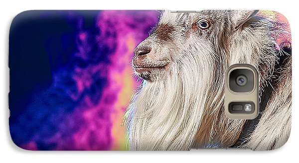 Blue The Goat In Fog Galaxy S7 Case