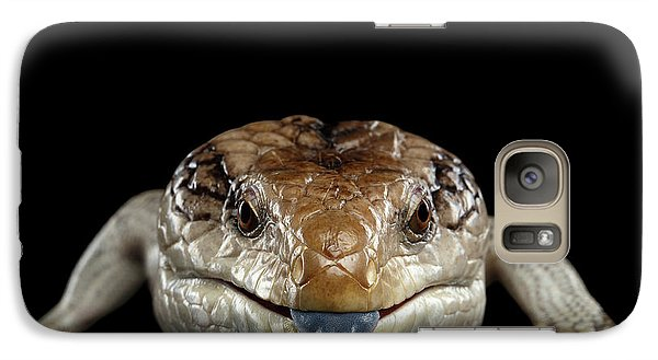 Blue-tongued Skink Galaxy S7 Case by Sergey Taran