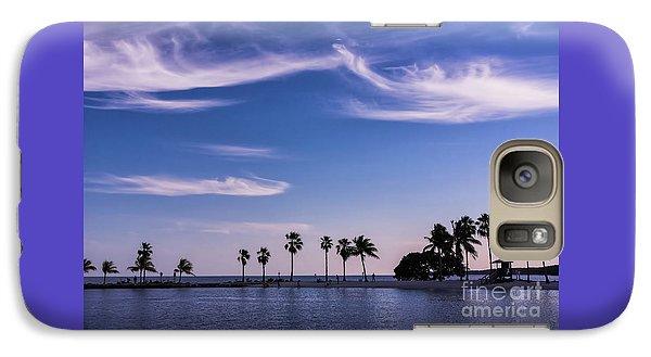 Blue Tropics Galaxy S7 Case