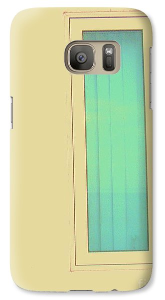 Galaxy Case featuring the photograph Blue  by Vanessa Palomino