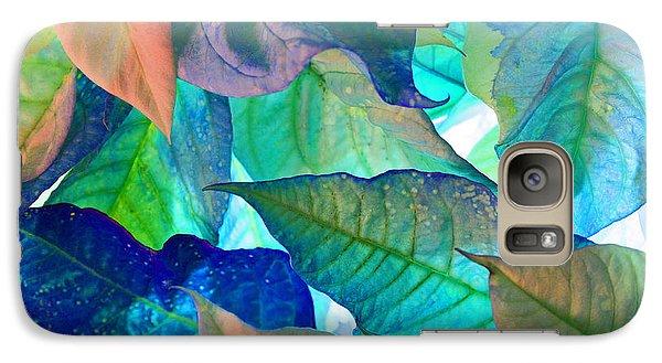 Galaxy Case featuring the photograph Blue Velvet by Bobby Villapando