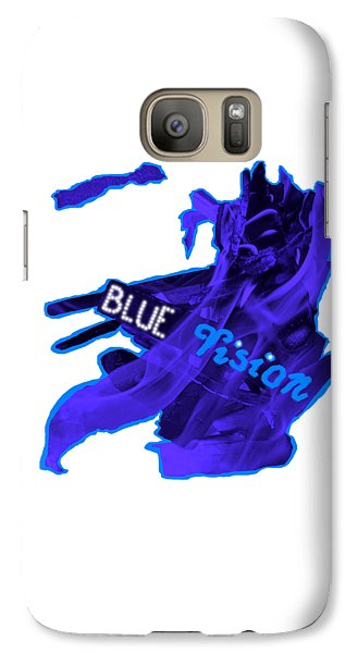 Galaxy S7 Case - Blue Vision by Orphelia Aristal