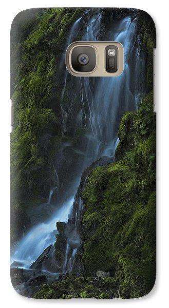 Blue Waterfall Galaxy S7 Case