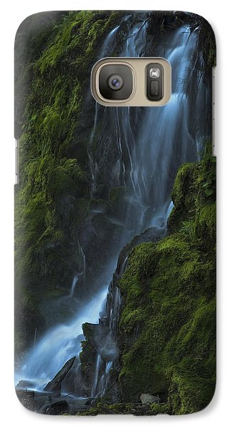 Blue Waterfall Galaxy S7 Case