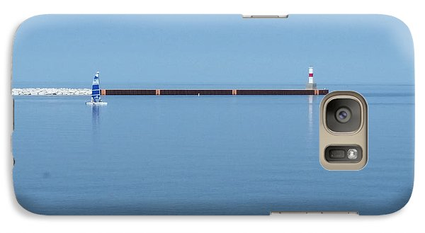 Galaxy Case featuring the photograph Blue Waters by Wendy Shoults