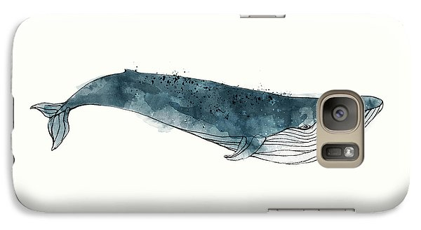 Blue Whale From Whales Chart Galaxy S7 Case