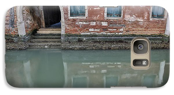 Galaxy Case featuring the photograph Blue Windows by Sharon Jones