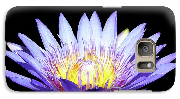 Galaxy Case featuring the photograph Blue Wonder by Judy Vincent