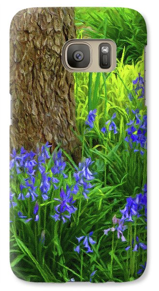 Galaxy Case featuring the photograph Bluebells Of Springtime  by Connie Handscomb