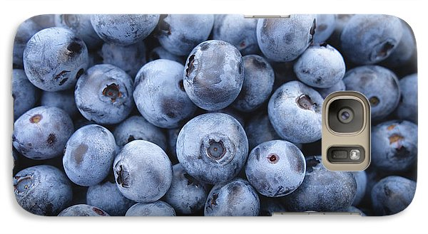 Blueberries Galaxy S7 Case by Happy Home Artistry