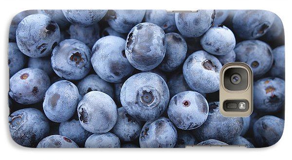 Blueberries Galaxy Case by Happy Home Artistry