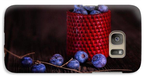 Blueberry Delight Galaxy Case by Tom Mc Nemar
