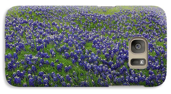 Galaxy Case featuring the photograph Bluebonnet Field by Robyn Stacey