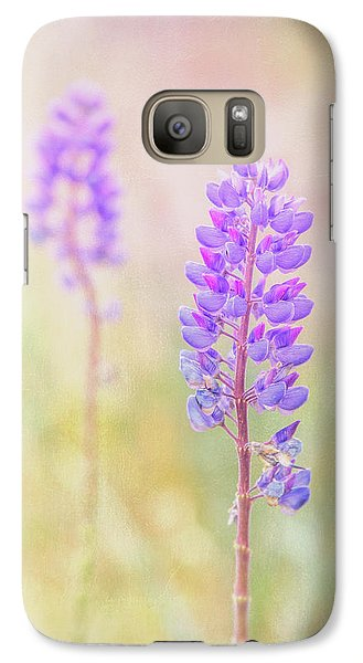 Galaxy Case featuring the photograph Bluebonnet by Russell Styles