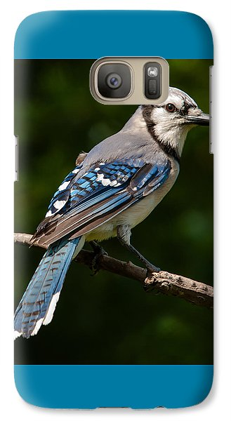 Galaxy Case featuring the photograph Bluejay's Way by Jim Moore