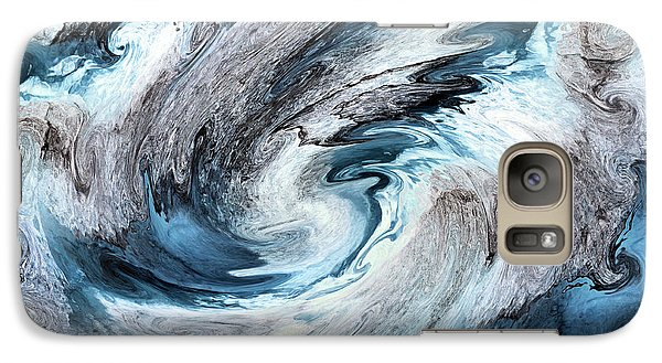 Galaxy Case featuring the photograph Blues by Kristin Elmquist