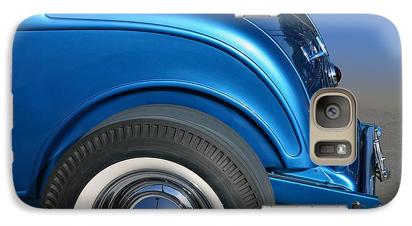 Galaxy Case featuring the photograph Blutail Coupe by Bill Dutting