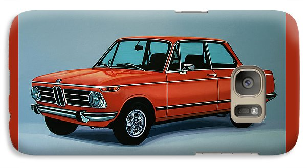 Bmw 2002 1968 Painting Galaxy Case by Paul Meijering