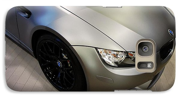 Vehicle Galaxy Case featuring the photograph Bmw M3 by Aaron Berg