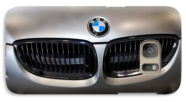 Vehicle Galaxy Case featuring the photograph Bmw M3 Hood by Aaron Berg