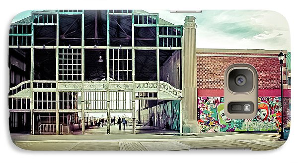 Galaxy Case featuring the photograph Boardwalk Casino - Asbury Park by Colleen Kammerer