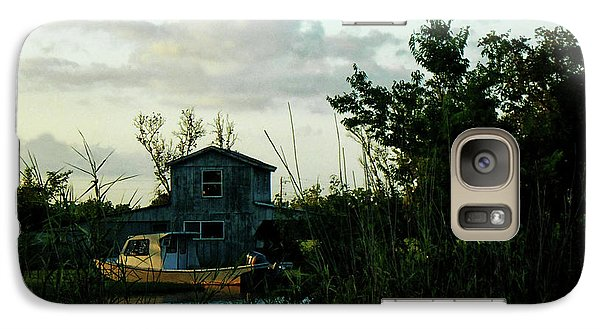 Galaxy Case featuring the photograph Boat House by Cynthia Powell
