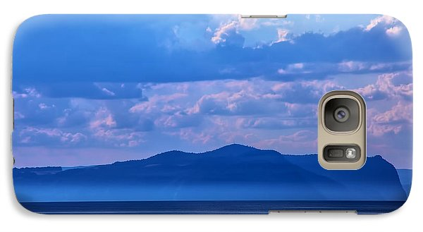 Galaxy Case featuring the photograph Boat In Lake by Rick Bragan