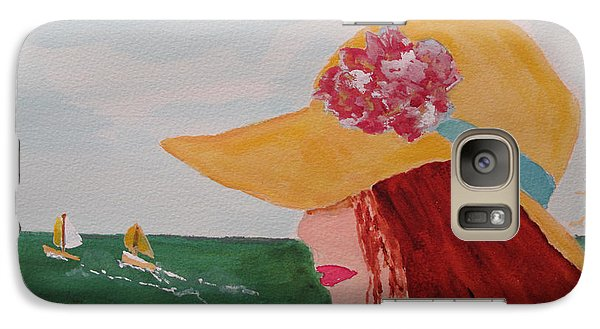 Galaxy Case featuring the painting Boating by Sandy McIntire