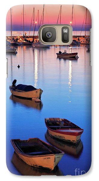 Galaxy Case featuring the photograph Boats by Bernardo Galmarini