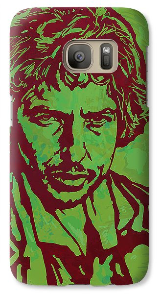 Bob Dylan Pop Art Poser Galaxy Case by Kim Wang