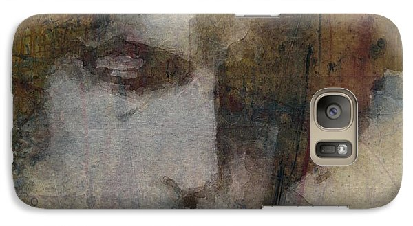 Bob Dylan Galaxy S7 Case - Bob Dylan - The Times They Are A Changin' by Paul Lovering