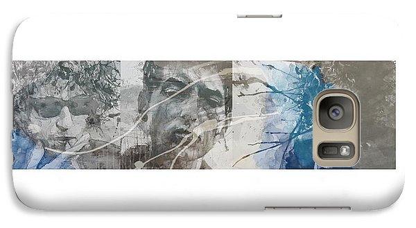 Bob Dylan Triptych Galaxy S7 Case