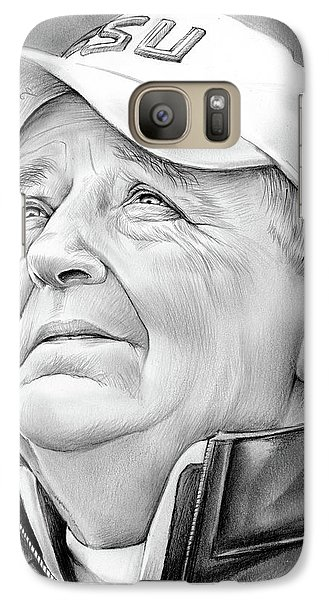 Florida State Galaxy S7 Case - Bobby Bowden by Greg Joens