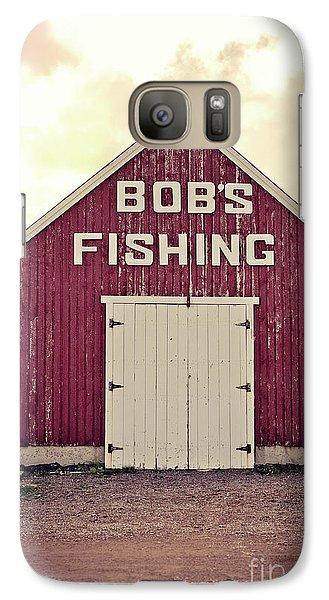 Bob's Fishing North Rustico Galaxy S7 Case by Edward Fielding