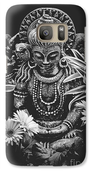 Galaxy Case featuring the photograph Bodhisattva Parametric by Sharon Mau