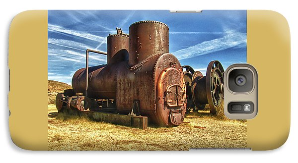 Old Boiler Bodie State Park Galaxy S7 Case