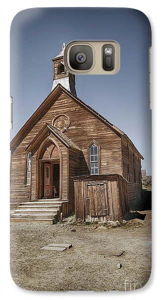 Galaxy Case featuring the photograph Bodie Church by Jim  Hatch