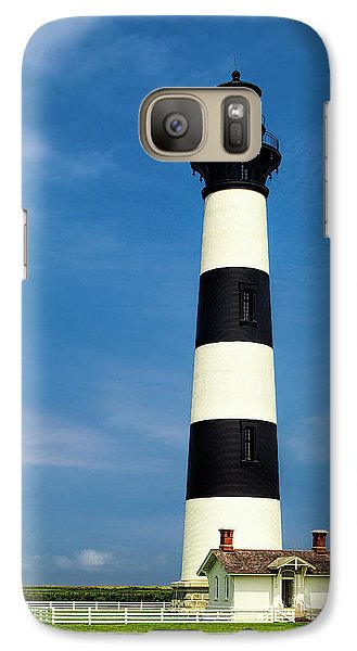 Galaxy Case featuring the photograph Bodie Island Lighthouse by Andrew Soundarajan
