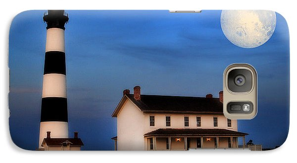Galaxy Case featuring the photograph Bodie Island Lighthouse by Cindy Haggerty