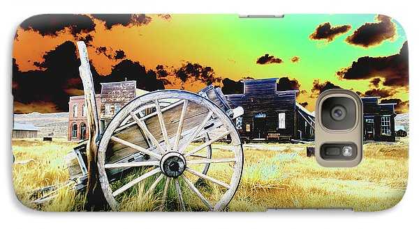 Galaxy Case featuring the photograph Bodie Wagon by Jim and Emily Bush